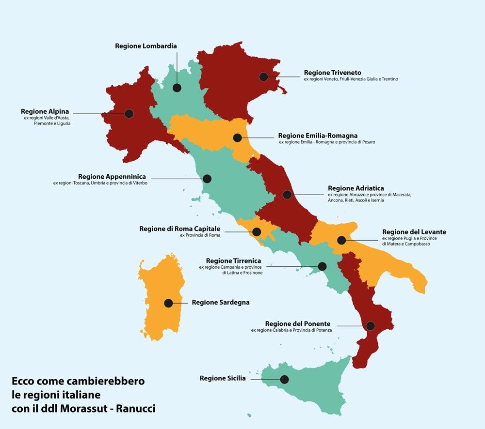 riduzione-delle-regioni-mappa-proposta-pd riduzione regioni