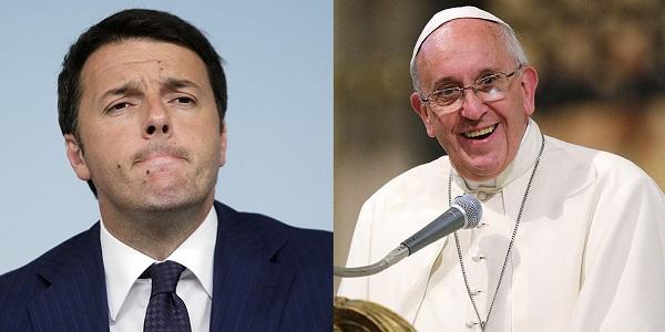 visita di renzi da papa francesco