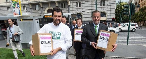 corte boccia referendum legge fornero salvini italia mi fa schifo