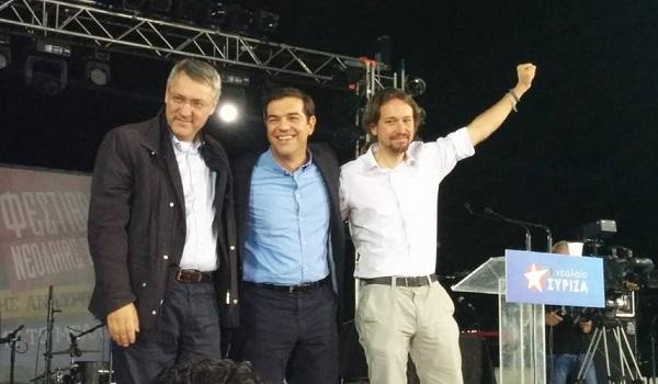 elezioni grecia tsipras landini fiom