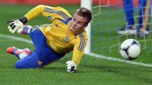 il portiere ucraino Koval ha esordito in nazionale a 19 anni