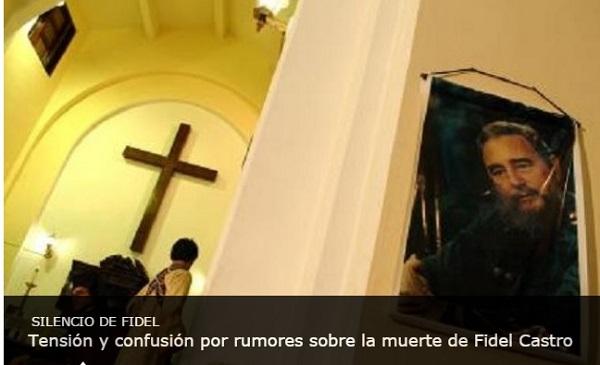 morte di fidel castro annunciata da media usa