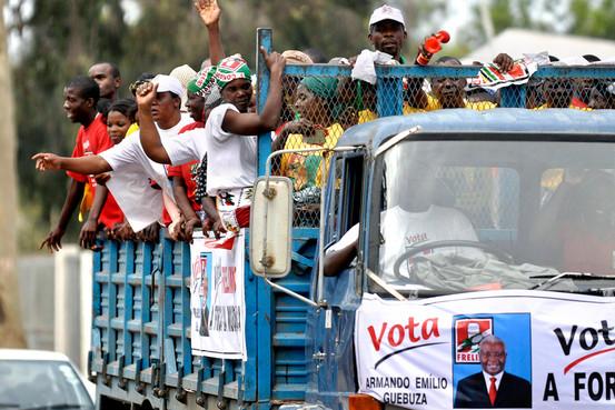risultati elezioni mozambico gas