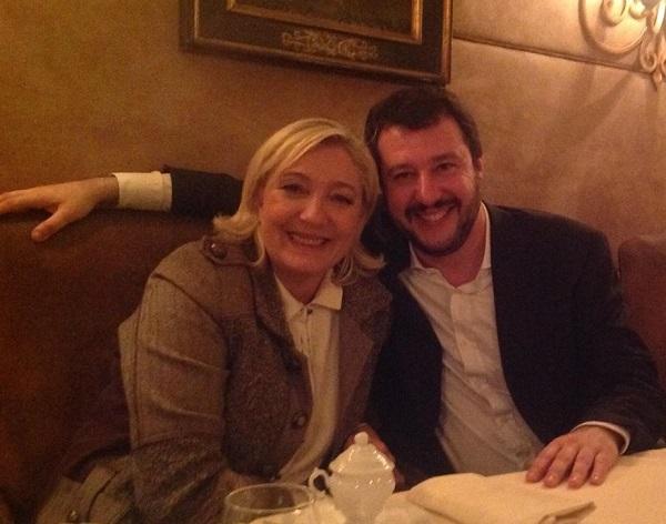 Sondaggi Francia, Le Pen, Salvini, Lega Nord, Front National
