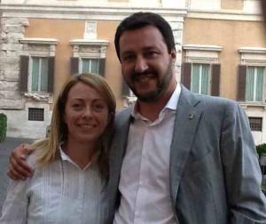 Meloni: �Fronte comune con la Lega per opporci a Renzi�