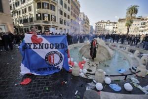 Roma, la Capitale della violenza ultras