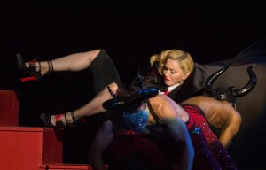 Caduta di Madonna dal palco dei Brit Awards 2015