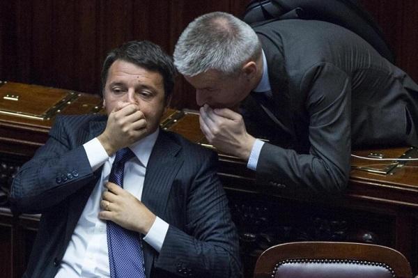 matteo renzi boccia sinistra italiana
