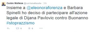 Frasi razziste contro i Rom, la sinistra radicale denuncia Buonanno
