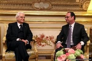 Mattarella in Francia: �C�� bisogno di pi� Europa�