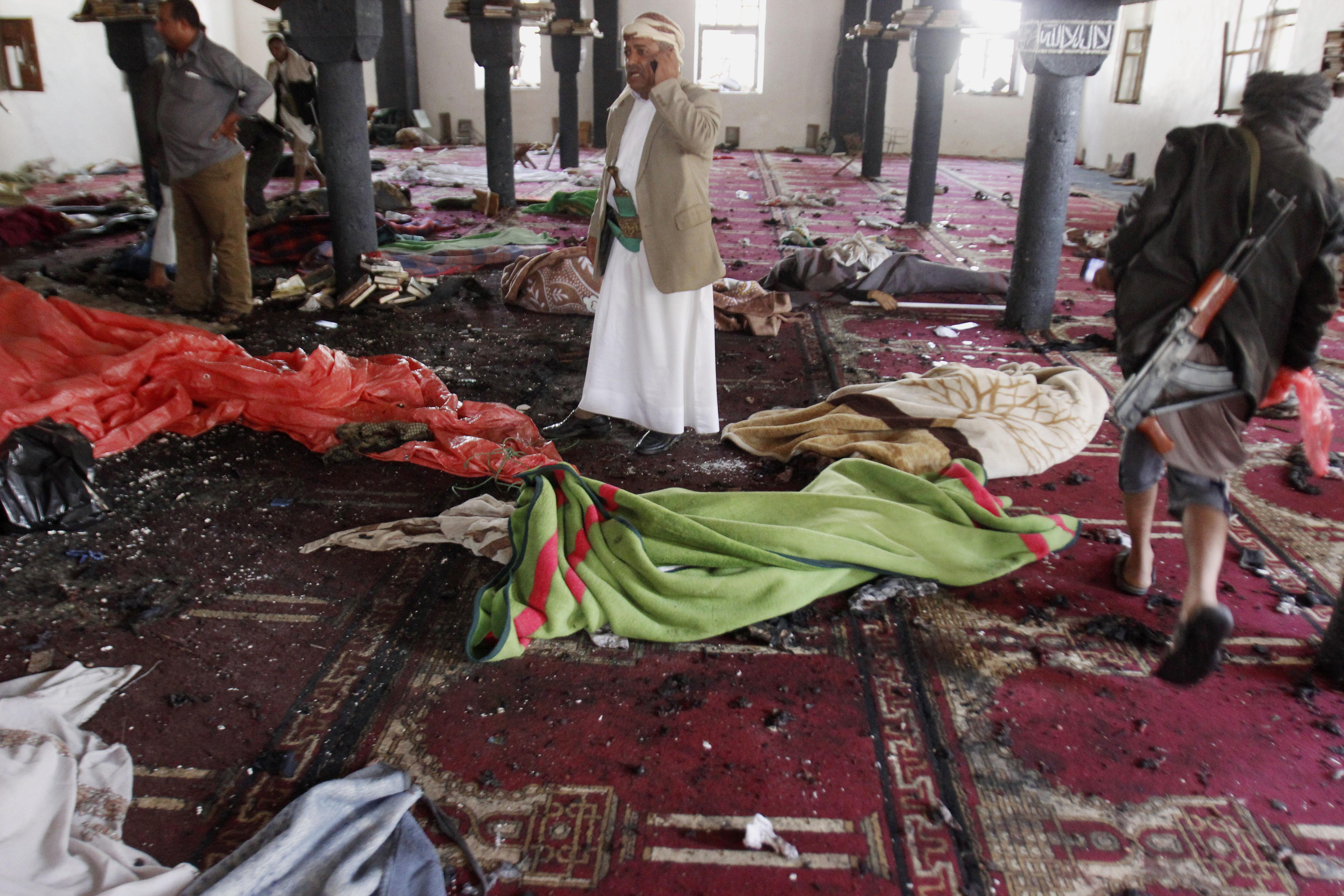 Yemen: Cnn, attacchi a moschee, 77 morti e 200 feriti