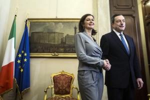 Audizione Draghi: �L�Italia non sprechi l�occasione fornita dal QE�