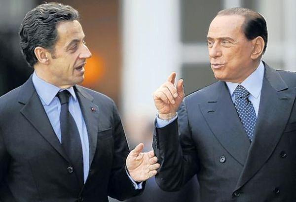 forza italia sarkozy ump italiana berlusconi