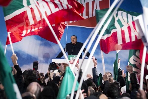 forza italia sotto sopra berlusconi si svegli