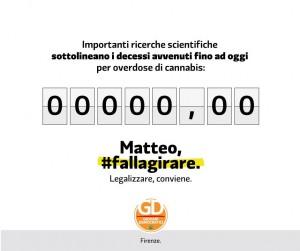 Matteo, #fallagirare: i Giovani democratici chiedono a Renzi la legalizzazione della cannabis
