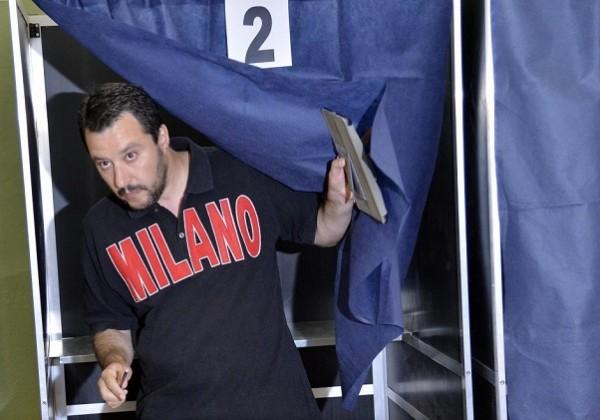 salvini candidato sindaco milano della lega per dopo pisapia elezioni