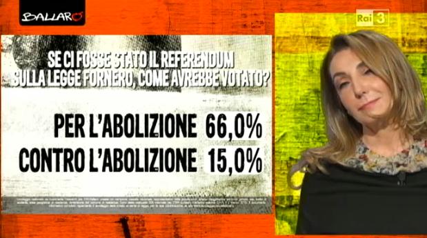 sondaggi elettorali Euromedia referendum