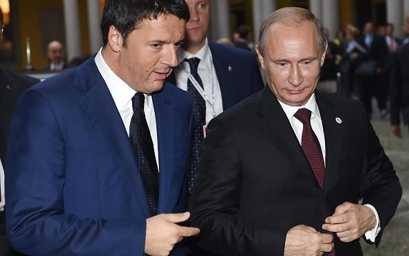 ucraina Renzi Putin