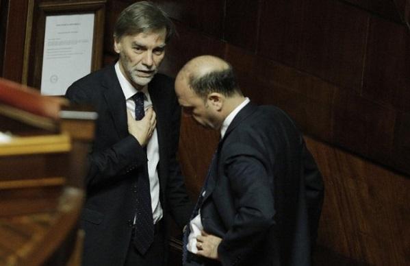 Giuramento Graziano Delrio ministro Infrastrutture a ncd ministero affari regionali