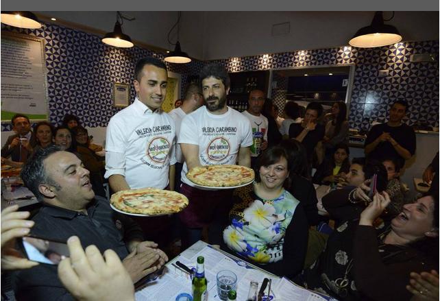 pizza M5S