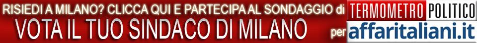 Sondaggio sindaco Milano