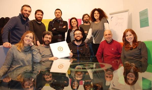 In foto il gruppo di 'Proforma' agenzia di comunicazione