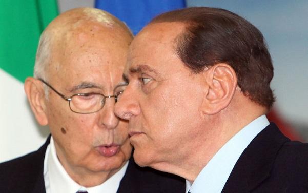 berlusconi e napolitano ex premier intercettato con laboccetta inchiesta ischia telefonata