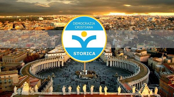 Immagine tratta dalla pagina Facebook di 'Democrazia Cristiana Storica'