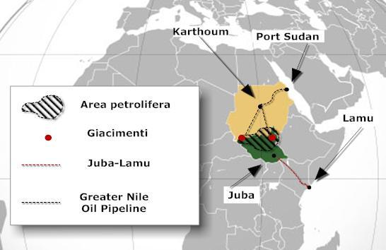 elezioni sudan petrolio