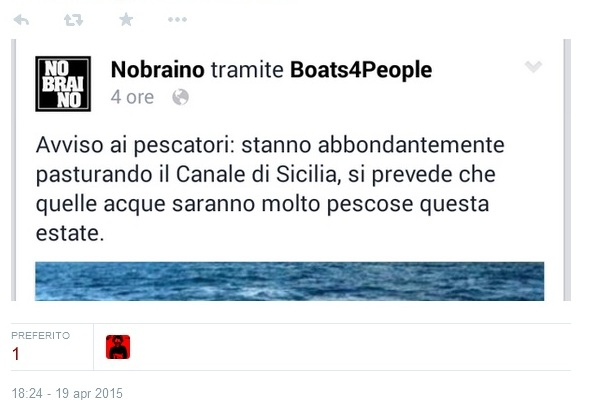 no braino naufragio migranti
