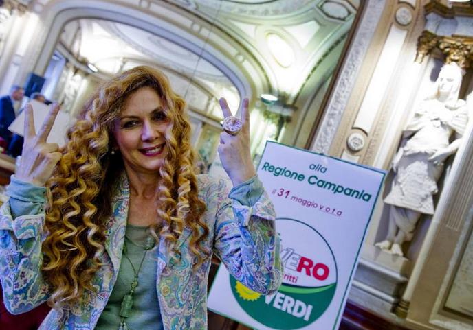 regionali campania eleonora brigliadori candidata per de luca capolista dei verdi