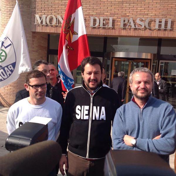 Immagine tratta dalla pagina Facebook di Salvini