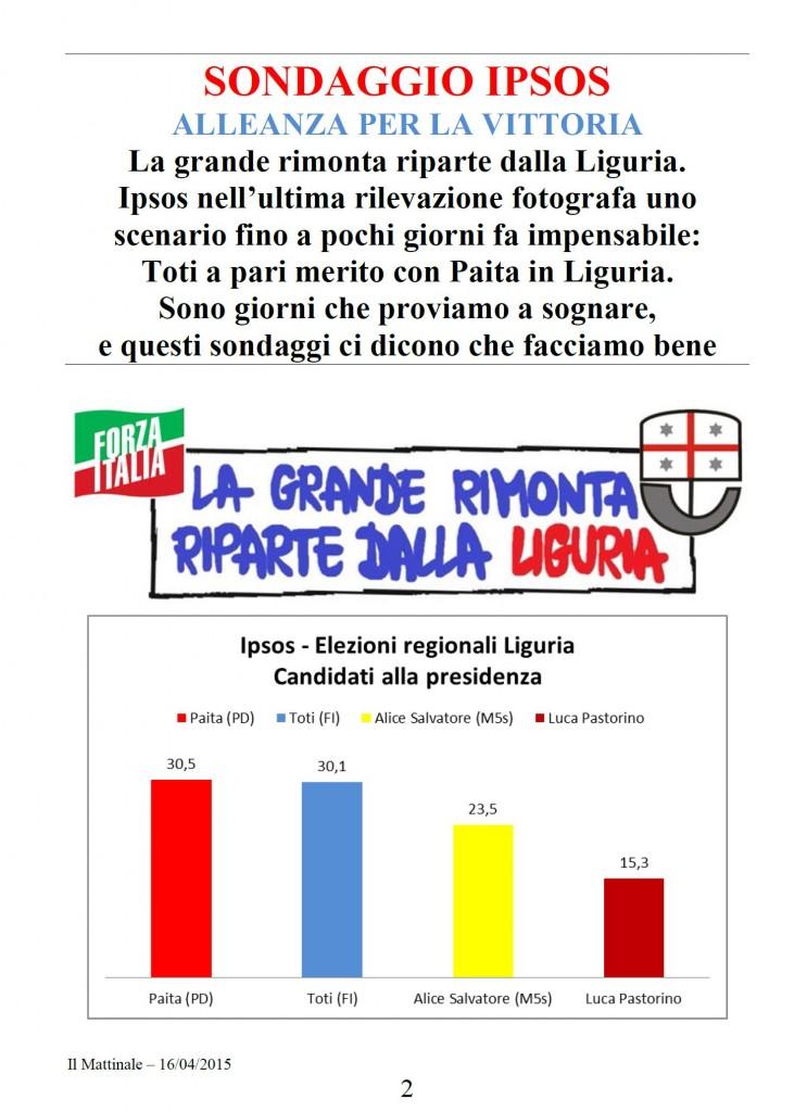 Sondaggio falso Ipsos Mattinale