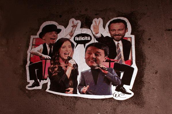 boschi renzi the voice albano e romina the voice