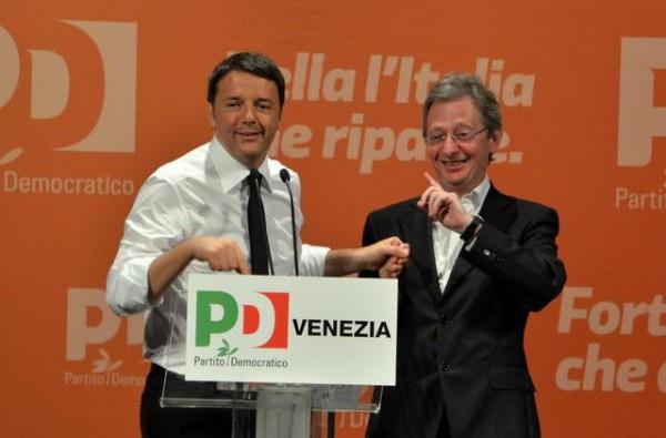 Casson e Renzi