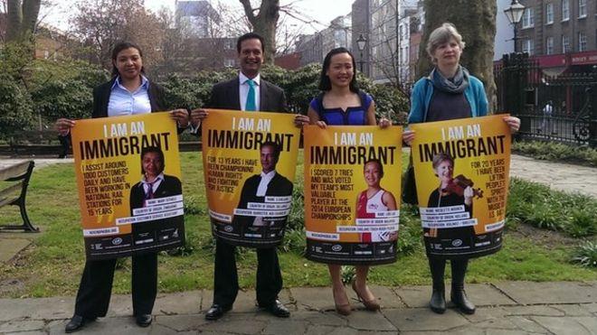 Elezioni nel Ragno Unito immigrazione
