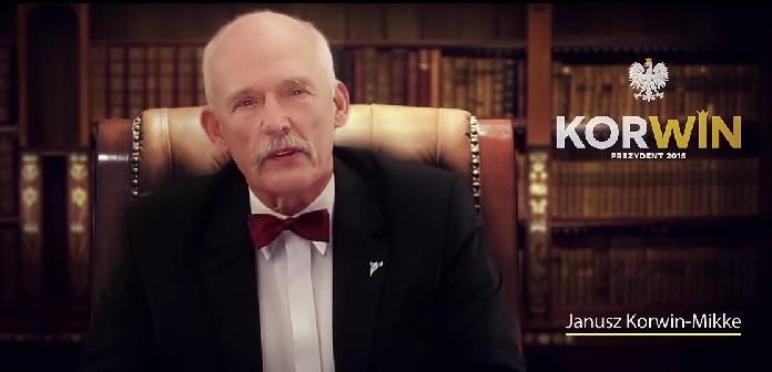 Elezioni Polonia, il candidato Janusz Korwin-Mikke