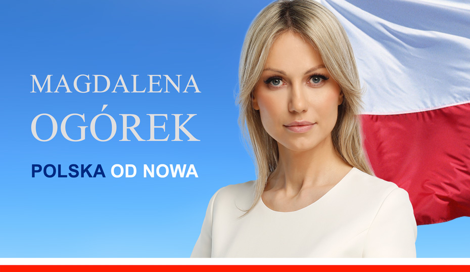 Elezioni Polonia, la candidata Magdalena Ogórek