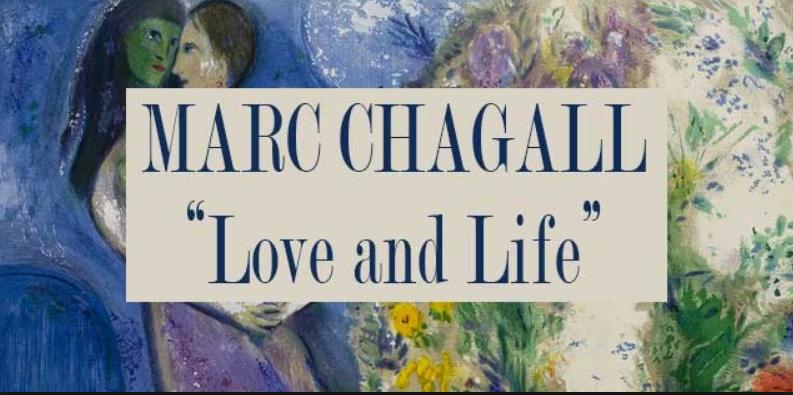 copertina mostra marc chagall