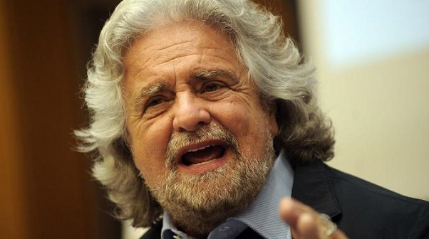Beppe Grillo leader m5s