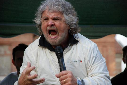 Beppe Grillo sulle mammografie
