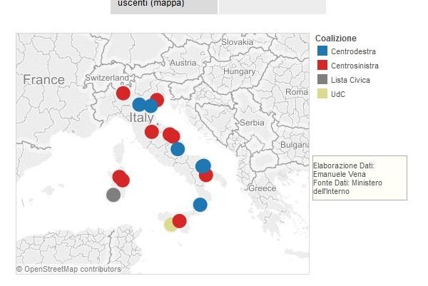 infografiche elezioni comunali 2015 amministrative
