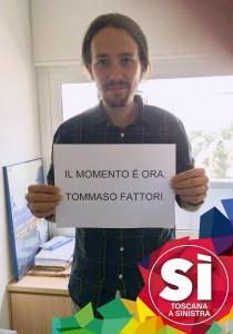 Podemos sostiene S� Toscana a Sinistra