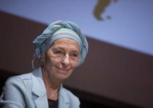 Emma Bonino �Ricevuta la telefonata di Papa Francesco�