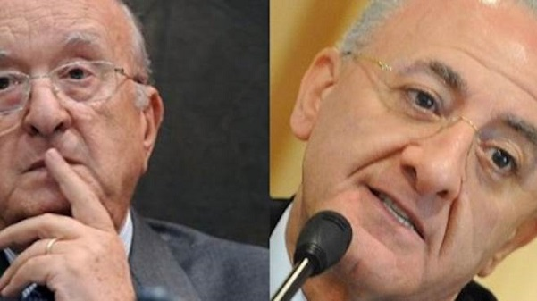 De Mita e De Luca alleati alle elezioni regionali in Campania del 31 Maggio