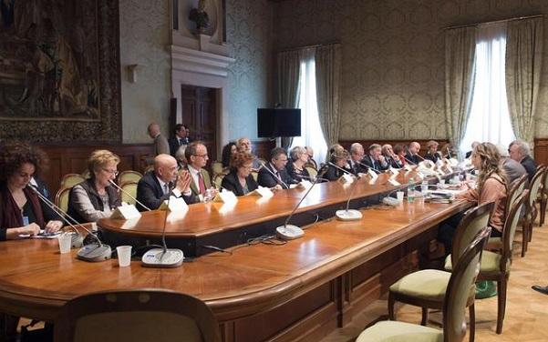 tavolo sulla scuola tra governo e sindacati a palazzo chigi