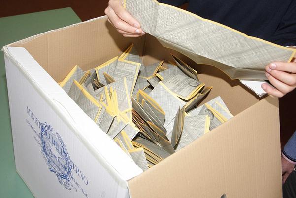 urna durante scrutinio