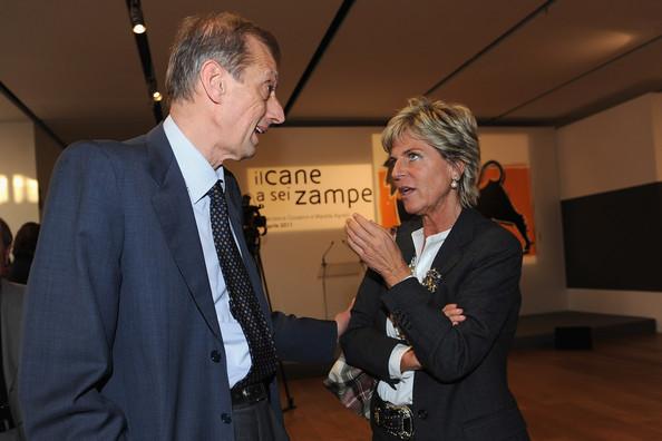 Il sindaco di Torino Fassino ed Evelina Christillin presidente Fondazione Museo Egizio