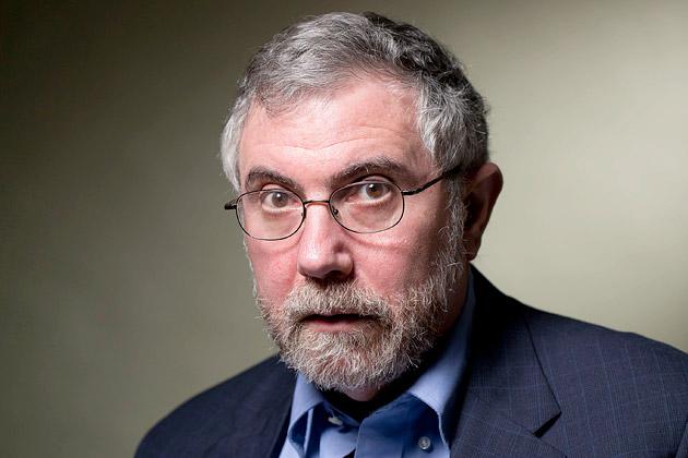 paul krugman in primo piano