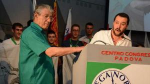 Lega Nord Bossi boccia la linea Salvini